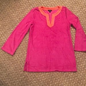 Talbots Lovely Terry cover up Size P (petite)